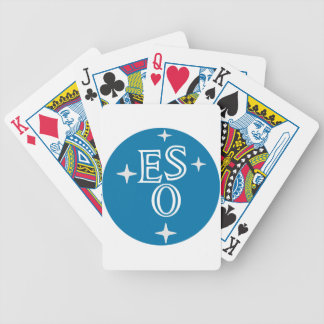 European Southern Observatory Bicycle Playing Cards