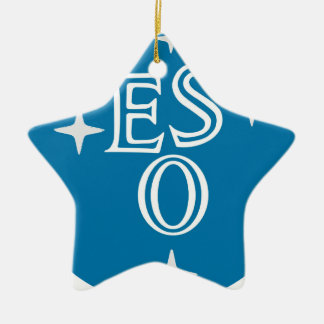 European Southern Observatory Christmas Tree Ornament