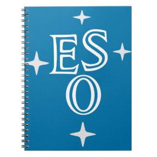 European Southern Observatory Spiral Notebooks