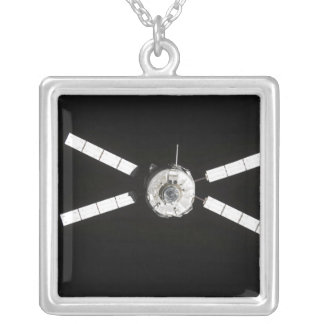 European Space Agency Silver Plated Necklace
