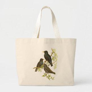 European Starling Tote Bags