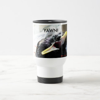 European starling travel mug