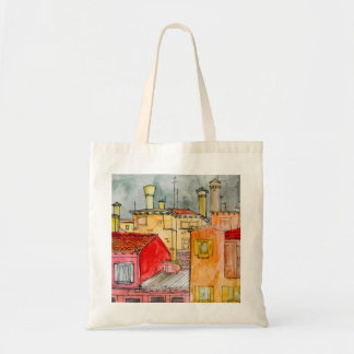 european street tote bag