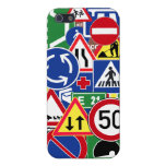 European Traffic Signs Collage Cases For iPhone 5