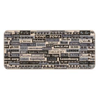 European Traveler custom Cribbage board