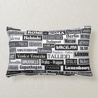 European Traveler custom throw pillows