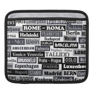 European Traveler laptop / iPad sleeve