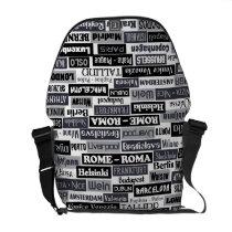 European Traveler messenger bag