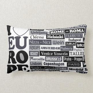 European Traveler throw pillow