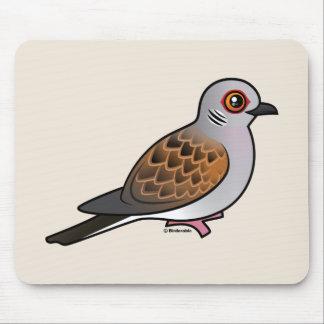 European Turtle Dove Mouse Pad