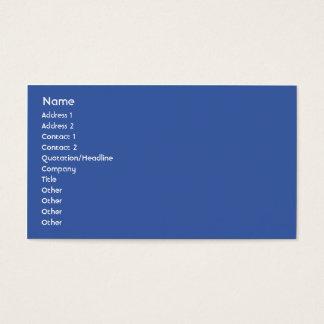European Union - Business Business Card