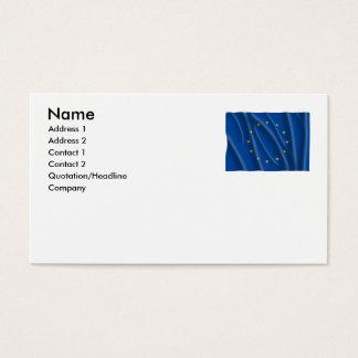 EUROPEAN UNION BUSINESS CARD