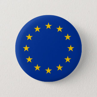 European Union - EU Flag Button