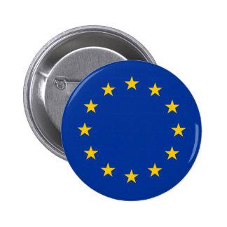 European Union - EU Flag 2 Inch Round Button