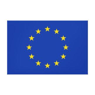 European Union - EU Flag Canvas Print