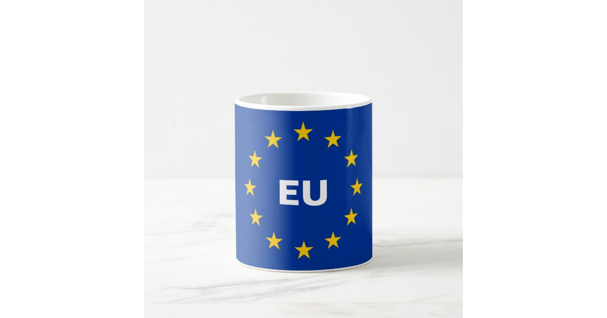 European Union Eu Flag Coffee Mug Zazzle Com