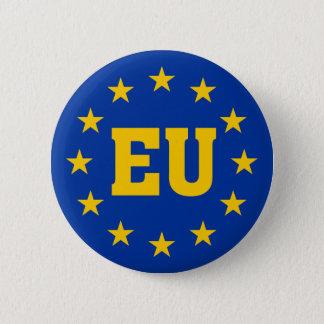 European Union, EU Flag Pinback Button