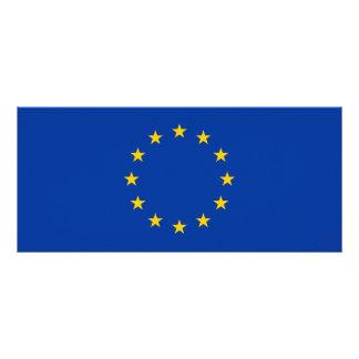 European Union - EU Flag Custom Rack Card