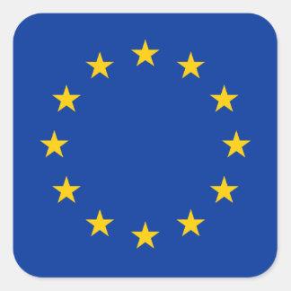 European Union - EU Flag Square Sticker