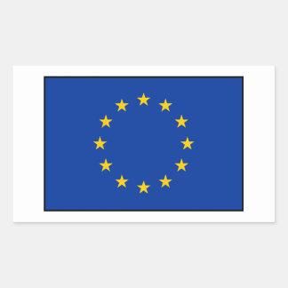 European Union - EU Flag Rectangular Sticker