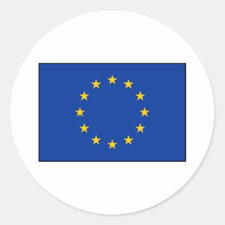European Union - EU Flag Classic Round Sticker