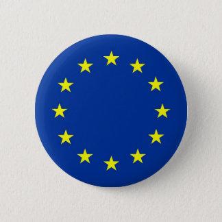 european union flag button