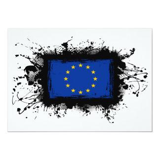 European Union Flag Card