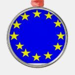 European Union Flag Christmas Ornaments
