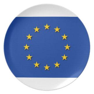 European Union Flag / EU Flag Plate