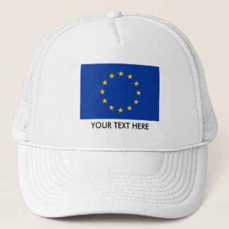 European Union flag hats   EU Europe Europa