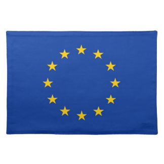 European Union Flag on MoJo Placemat