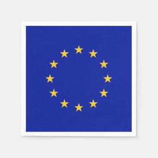European Union Flag Paper Napkin