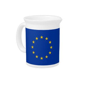 European Union Flag Pitcher