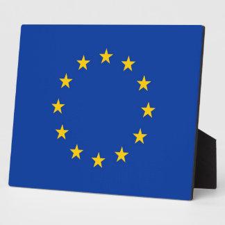 European Union Flag Plaque