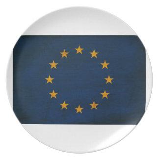 European Union Flag Plate