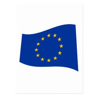 European Union Flag Postcard