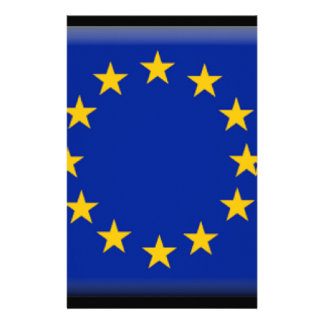 European Union Flag Personalized Stationery