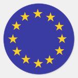 European Union Flag Stickers
