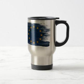 European Union Flag Travel Mug