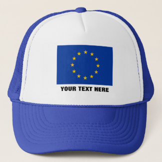 European Union hat   Blue EU Europe Europa flag