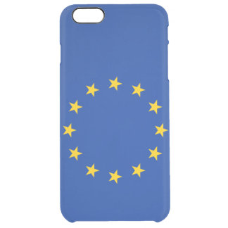 European Union Uncommon Clearly™ Deflector iPhone 6 Plus Case