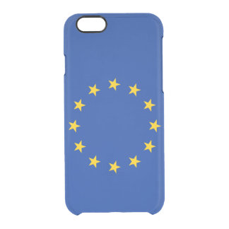 European Union Uncommon Clearly™ Deflector iPhone 6 Case