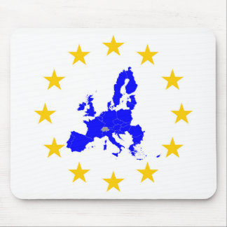 European union mouse pad