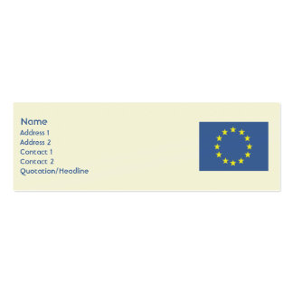 2000 european business cards and european business card for Union business cards