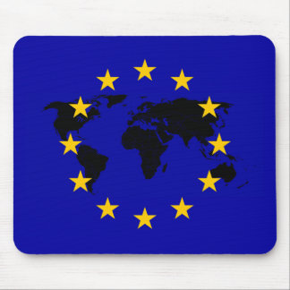 European Union star World flag Mouse Pad