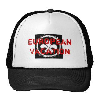 European Vacation Trucker Hat