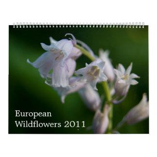 European Wildfowers 2011 Calendar