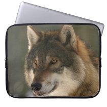 European Wolf Computer Sleeve