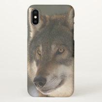 European Wolf iPhone X Case