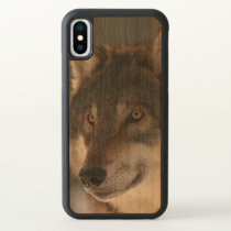 European Wolf iPhone X Case